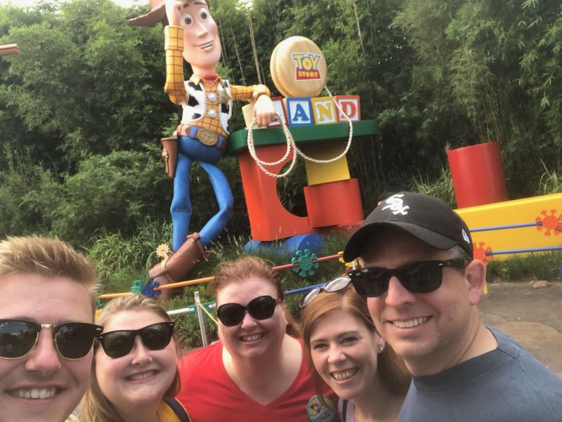Disney World Vacation with Family