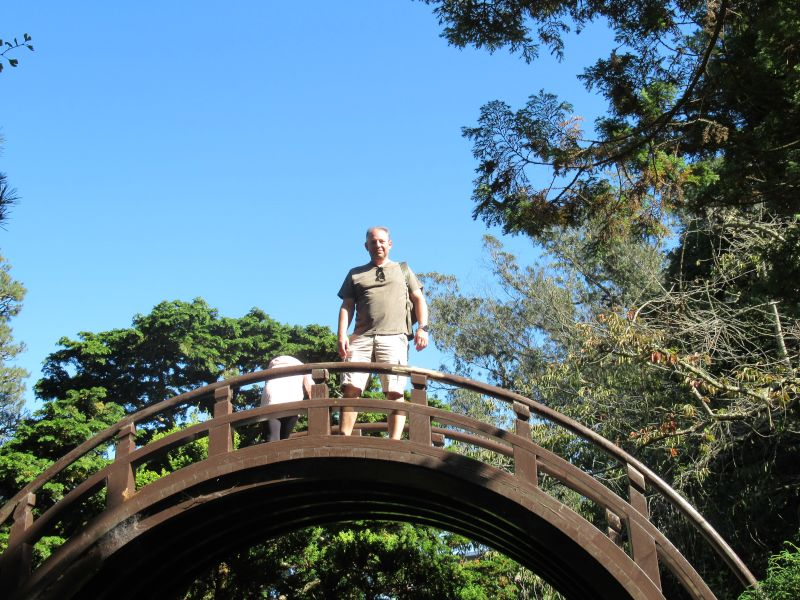 Visiting the Japanese Gardens in San Francisco