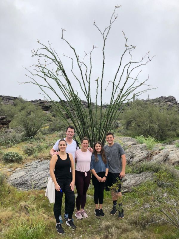 Hiking in Arizona With Family