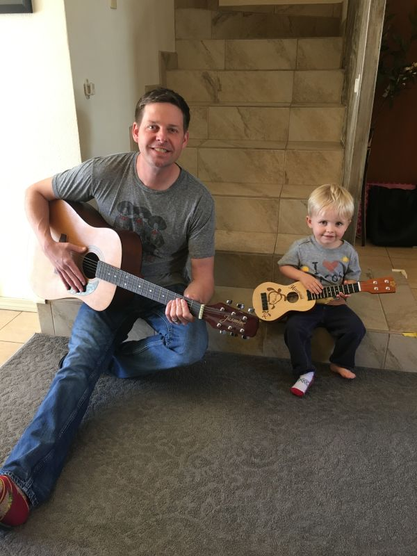 Playing Guitar Together