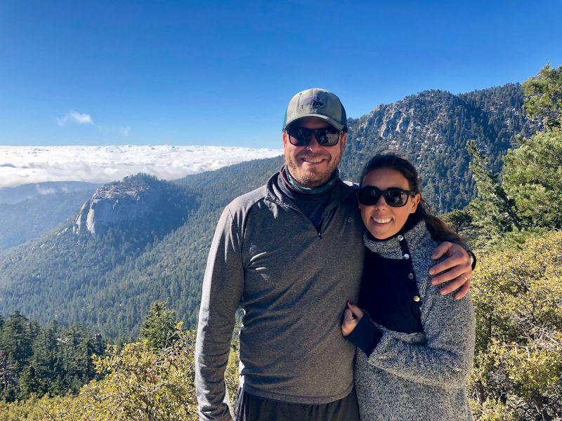 Hiking in Idyllwild, California