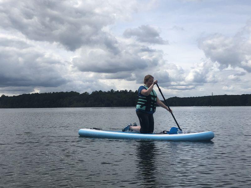 Marissa Paddleboarding
