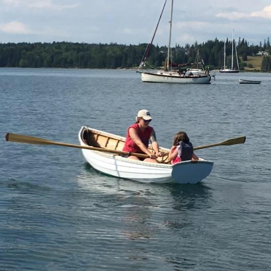 Rowing Out to See Seals in Maine