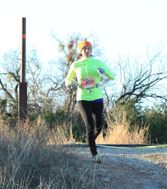 Kara on a Trail Run
