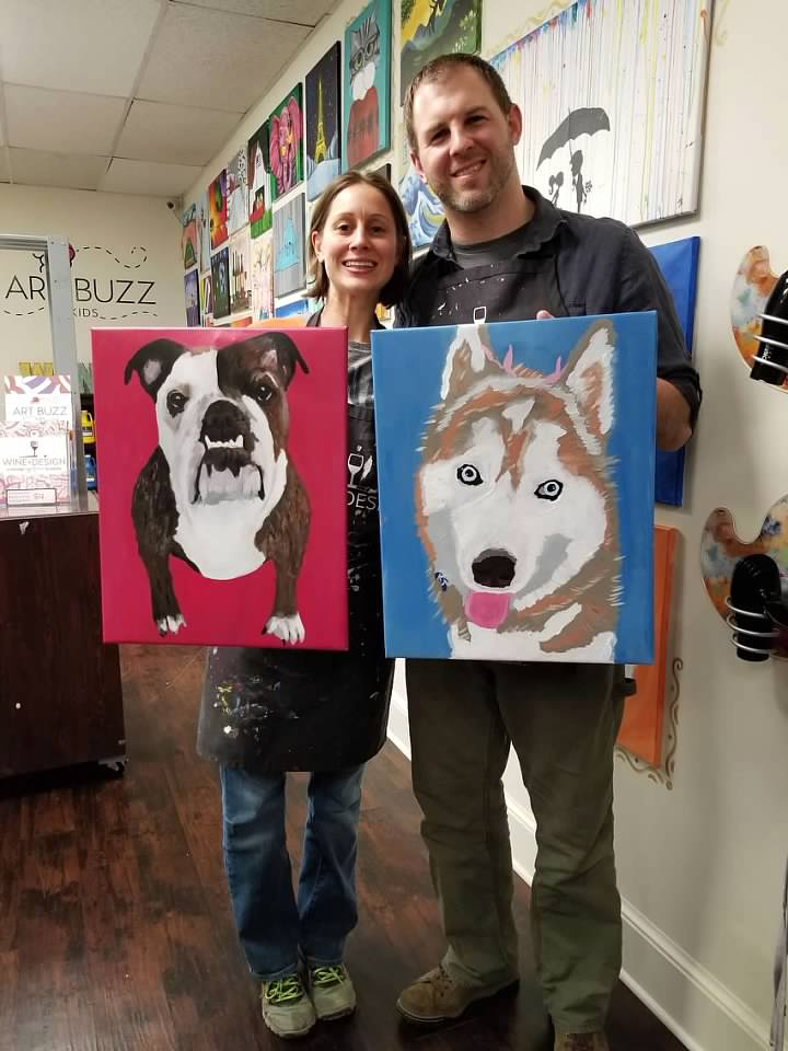 Painting Our Favorite Pets