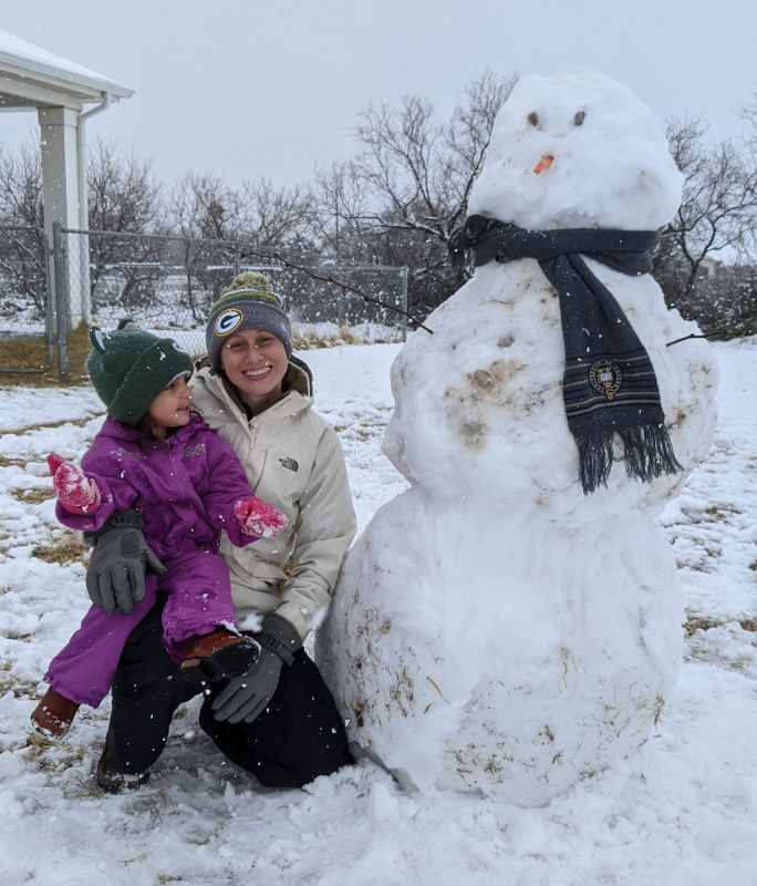 Look at that Snowman!