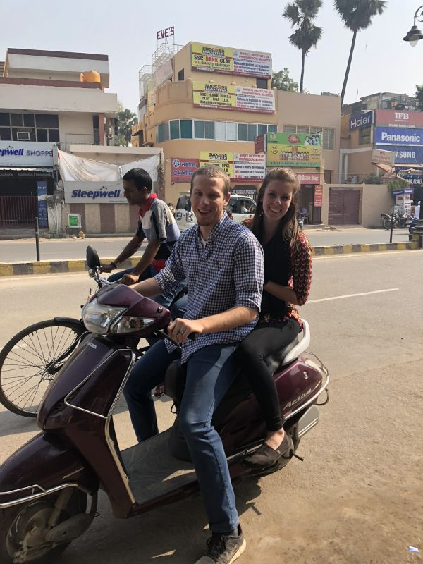 Scooter Ride in India