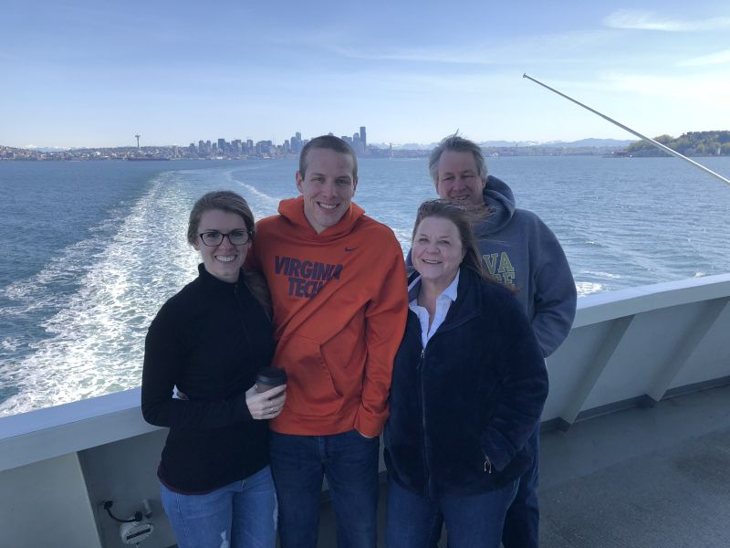 Ferry Ride with Family