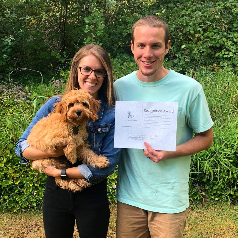 Hunter Graduated Puppy Kindergarten