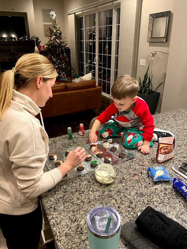 Making Christmas Treats for the Family
