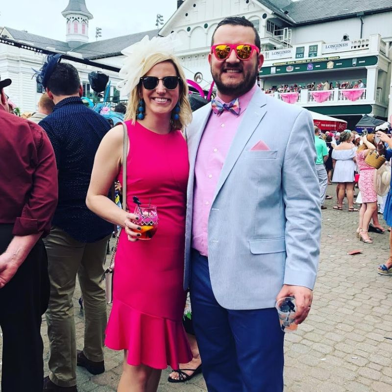 Visiting the Kentucky Derby