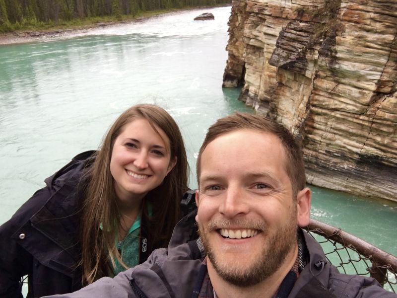 Enjoying Banff National Park in Canada