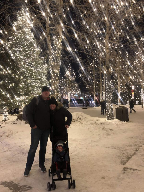 Enjoying the Winter in Colorado