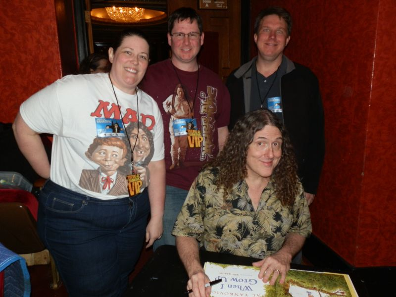 Meeting Weird Al