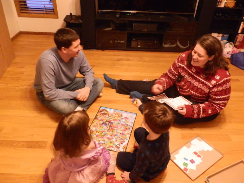 Candyland With Our Friend's Kids