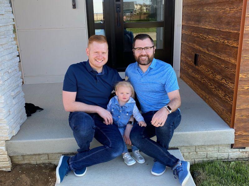 Front Porch Family Portrait