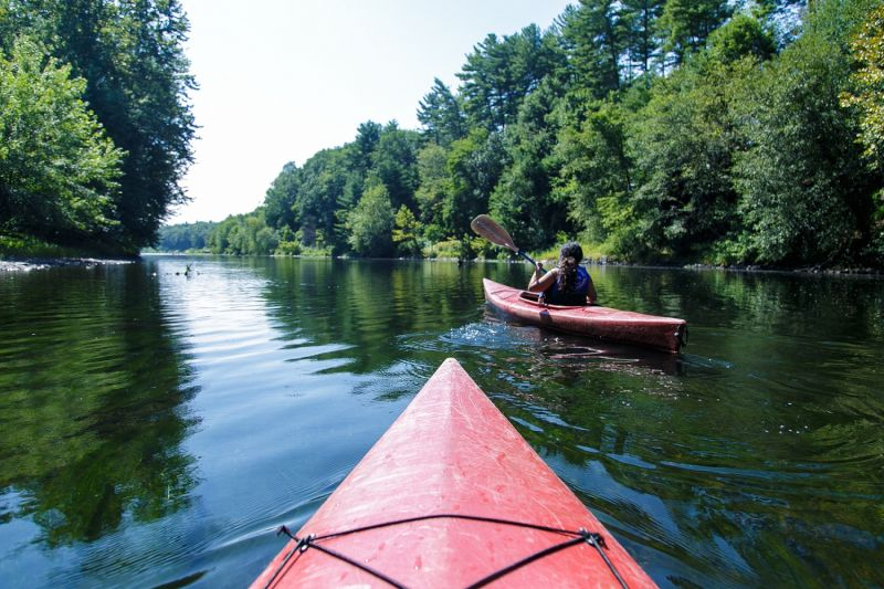 Zach's Favorite Way to Experience Nature - Kayaking on the River