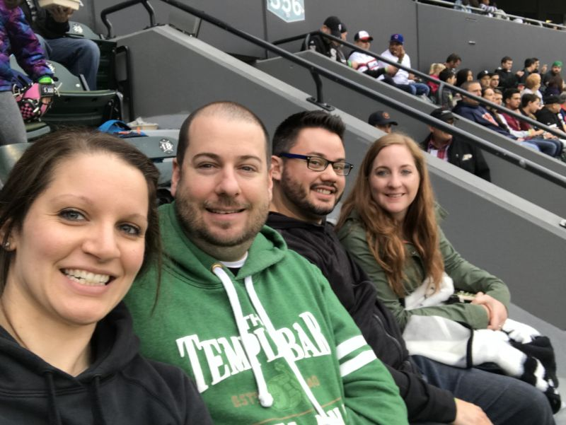 Baseball Game With Friends
