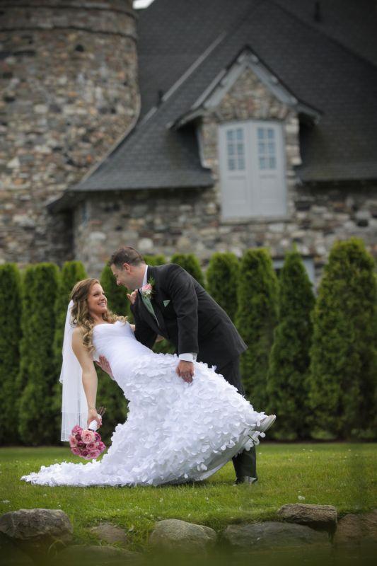 A Fairytale Wedding at a Castle