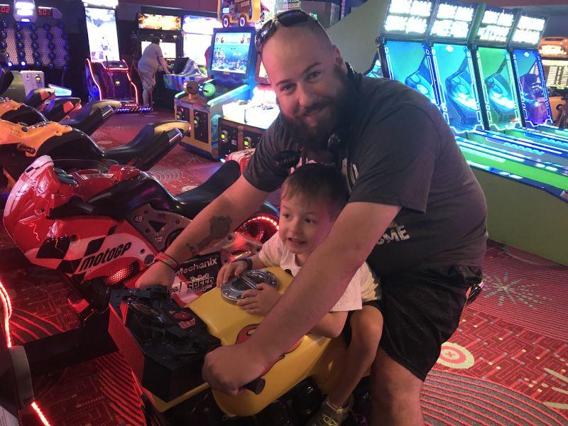 Go Faster Daddy!