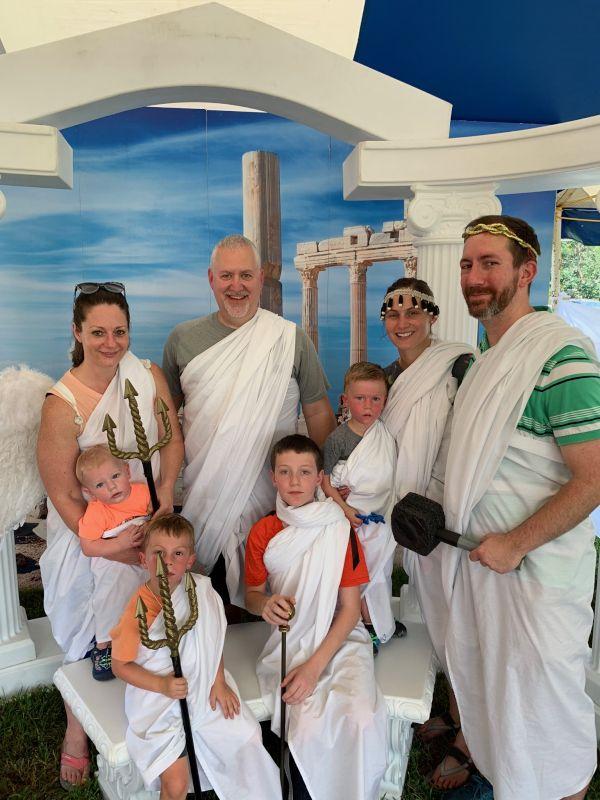 Greek Fest With Cousins