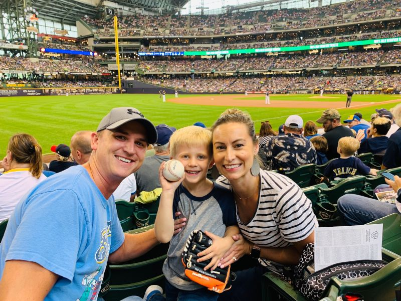 Catching a Foul Ball Made this Game Extra Special