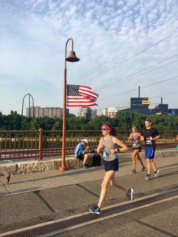 Emily Running a Half Marathon