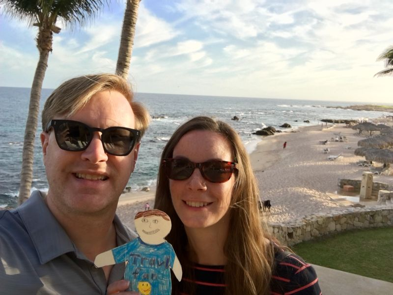 Flat Stanley's Adventure in Cabo for Our Nephew's School Project