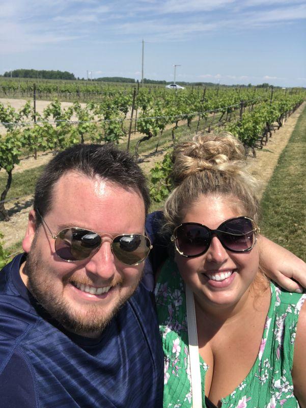 Exploring a Vineyard on Vacation