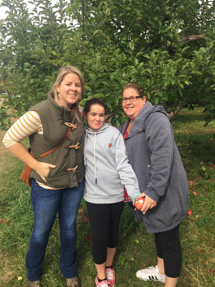 Fall Apple Picking Tradition With Erin's Family
