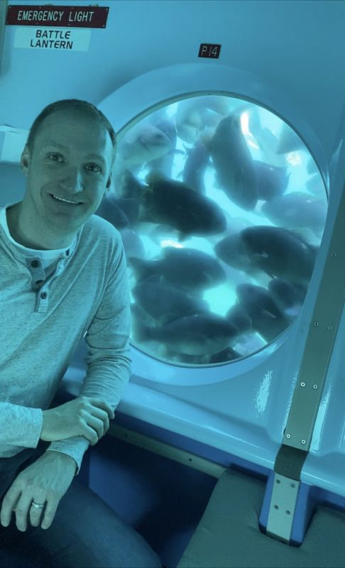 Spotting Fish in a Submarine