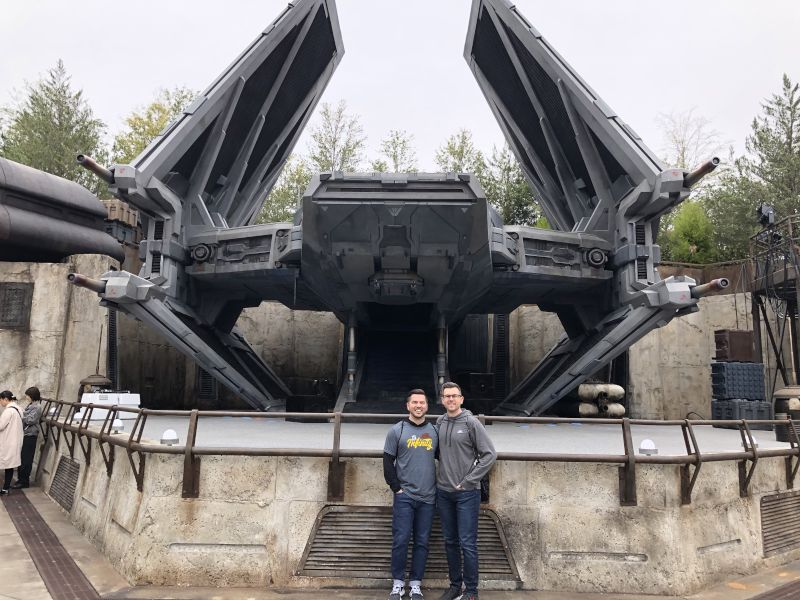 At Star Wars Galaxy's Edge