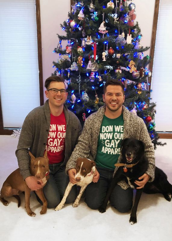 Christmas With Our Dogs
