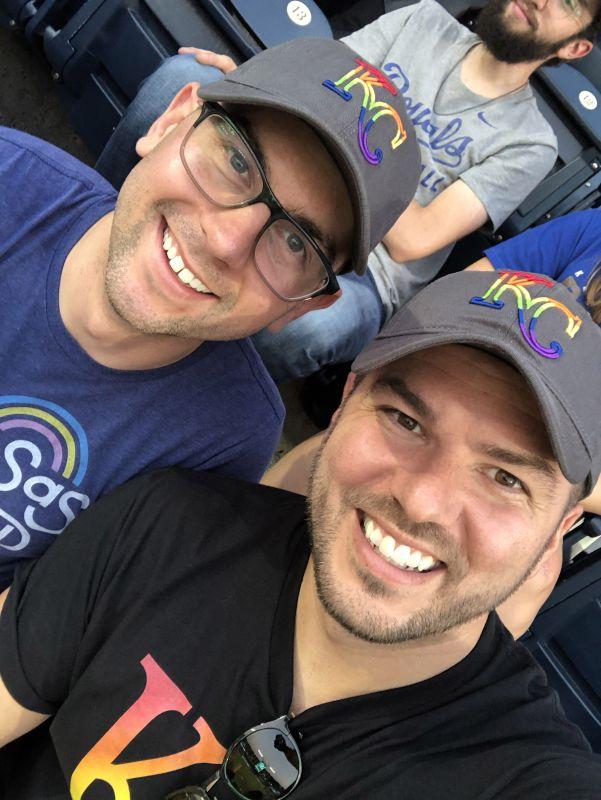 At Pride Night With the Kansas City Royals