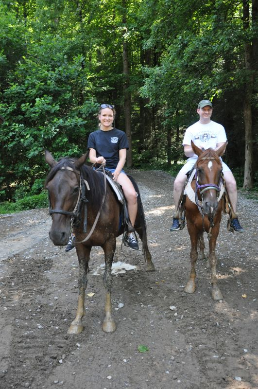 Horseback Riding in the Smokies