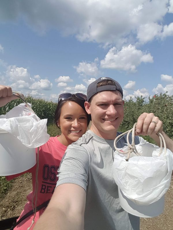 Picking Berries at Our Favorite Farm