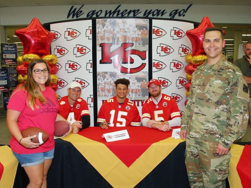 So Excited to Meet Patrick Mahomes!