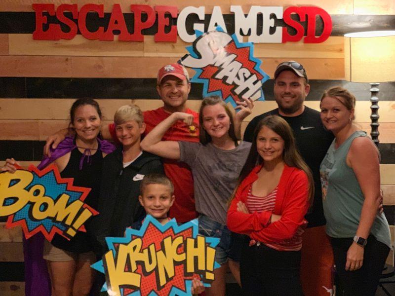 Fun at the Escape Room!