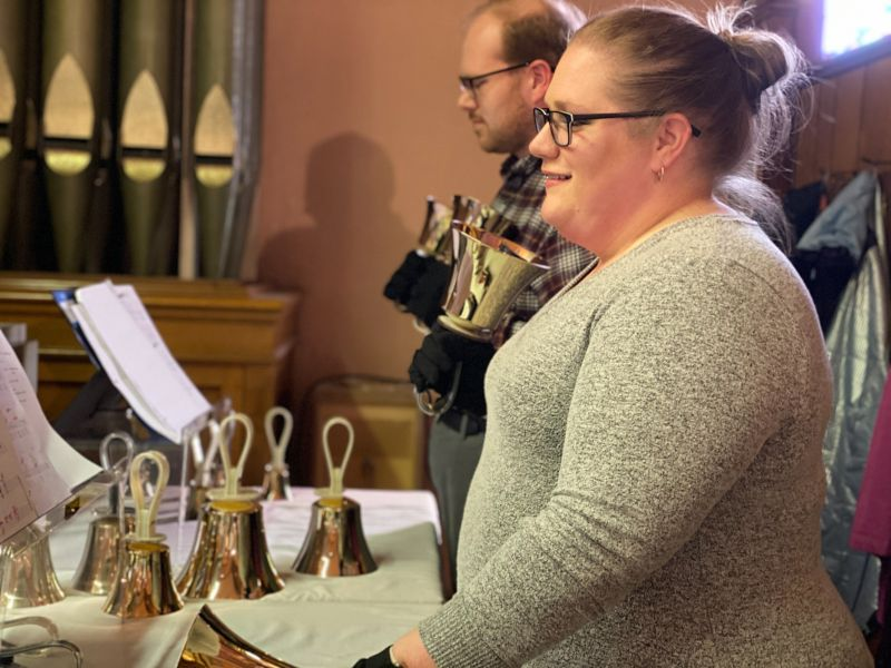 Ringing Bells at Sunday Mass