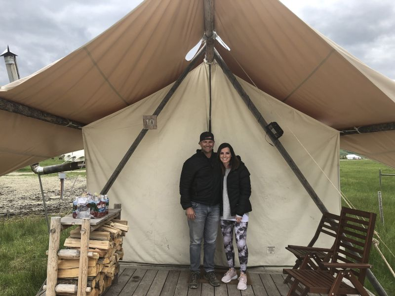 'Glamping' in Jackson Hole