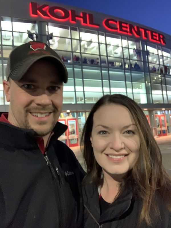 Badger Basketball Games Have Been a Tradition Since Our Very First Date