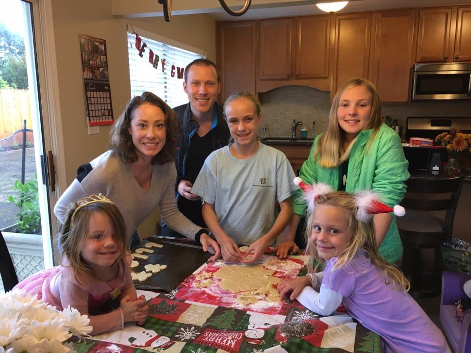 Making Cookies With Our Nieces