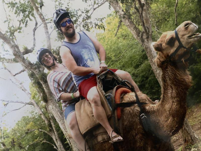Camel Ride in Jamaica