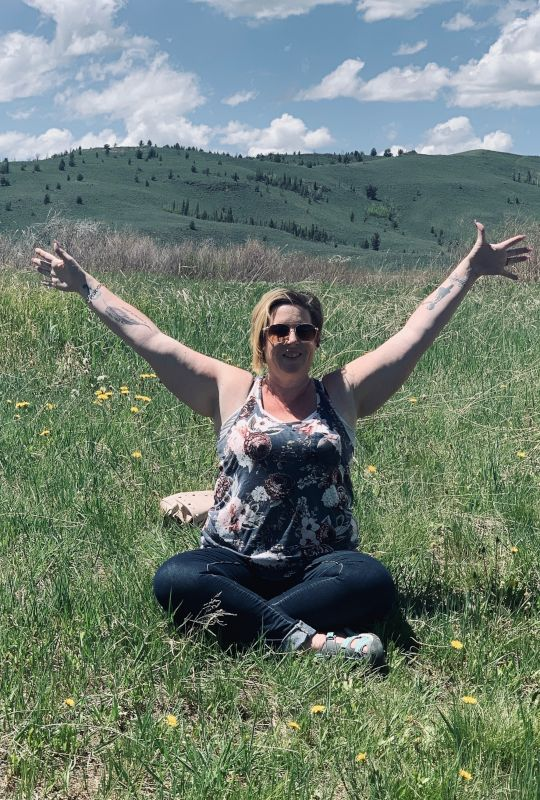 Meditating in the Mountains