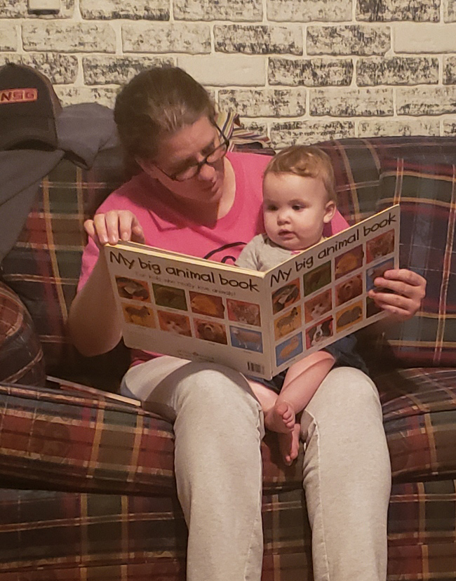 Storytime With Our Niece