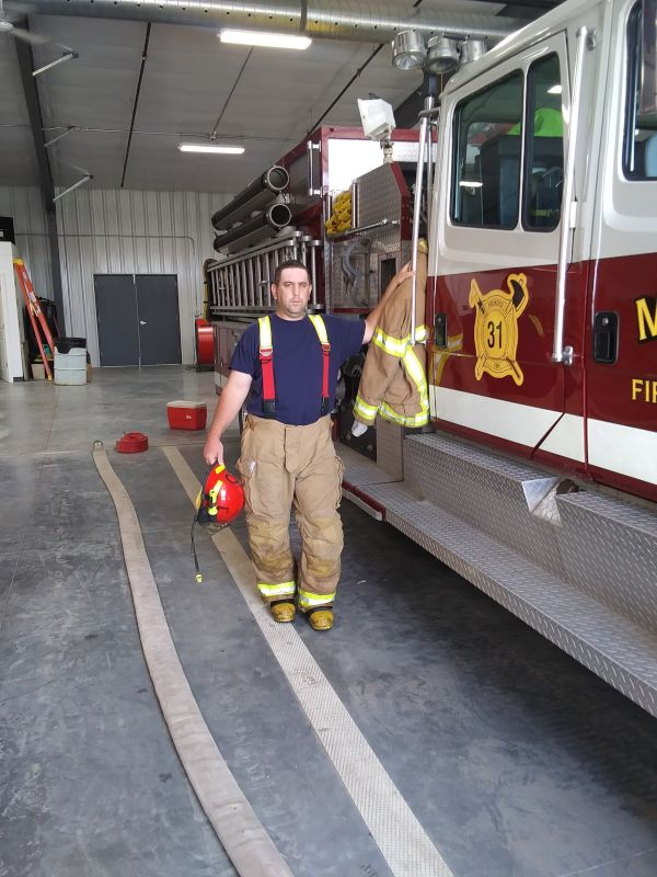 Jason at the Fire Department