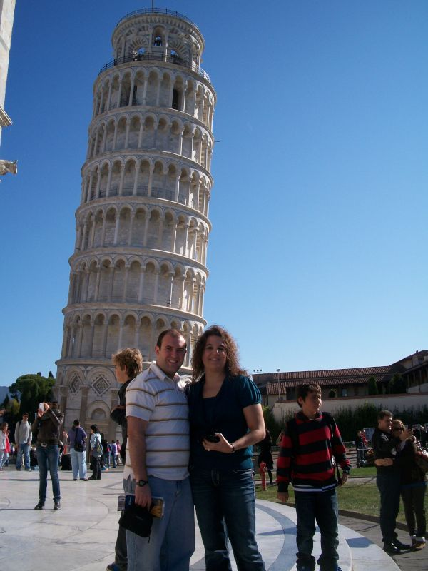 Checking Out the Leaning Tower of Pisa