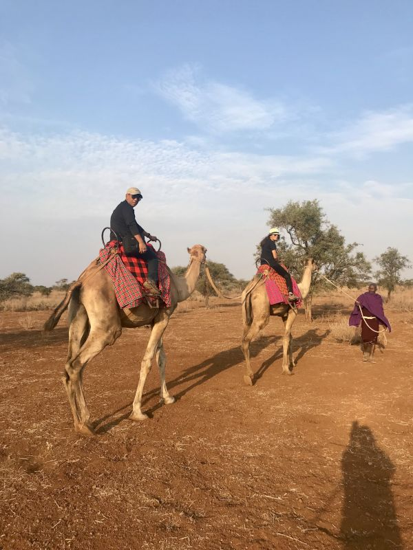 Camel Ride in Kenya