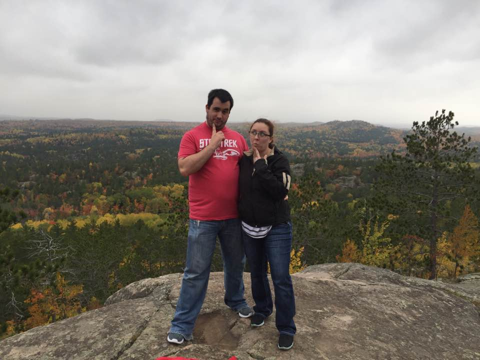 At the Top of Sugarloaf Mountain in Michigan