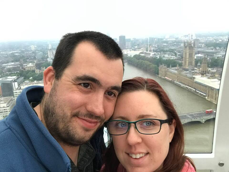 Enjoying the View From the London Eye